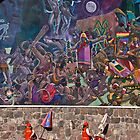 Ice Cream and Art, Cusco Peru by Den Williams