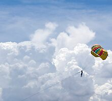 Parasailing Through Heaven by Chris Muscat