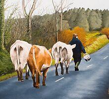 Home for tea - Clounleharde , Limerick by Pauline Sharp