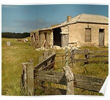 Ruins South Australia Poster