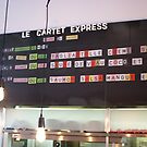 Le Cartet Menu Board by tgmurphy