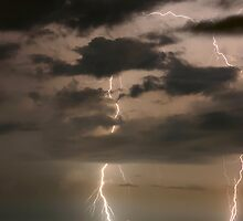 Coastal Lightning by kinz4photo