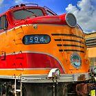 Florida East Coast Railway 1594 by Tomas Abreu