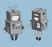 we can be robots b/w by Tom Smart