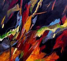 CONTEMPORARY CHRISTIAN ABSTRACT by Ruth Palmer by Ruth Palmer