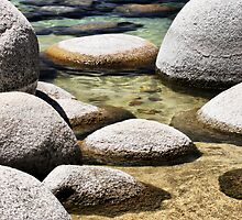 Sand Harbor at Lake Tahoe by Barbara  Brown