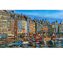 Honfleur - old houses Photographic Print