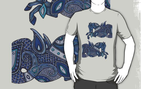 Sea Horse Tee by Lynnette Shelley