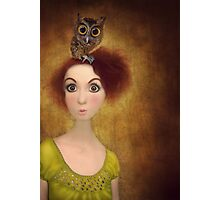 your a hoot Photographic Print