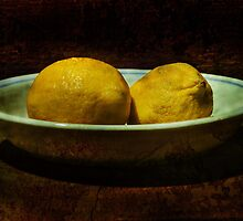 still life with lemons by lastgasp