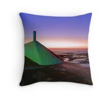 My Green Submarine Throw Pillow
