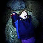 ophelia on the rocks by Daniela Orvin