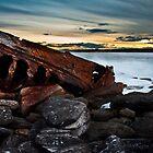 Shipwreck, La Perouse by Den Williams