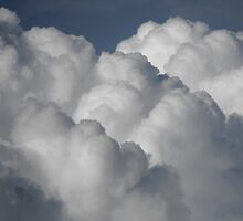 Close up of Cumulus Congestus Clouds by Jan  Tribe