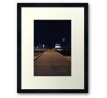 Coode St Jetty - Perth Western Australia  Framed Print