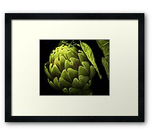 Awesome Artichoke Framed Print