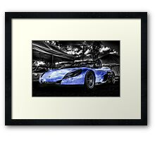 Blue Spider Framed Print