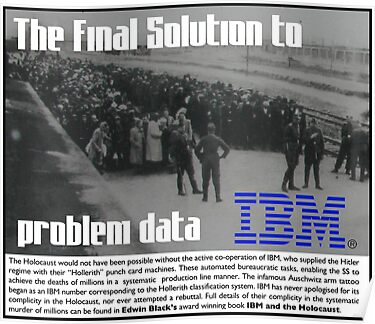IBM & the Holocaust by Synastone