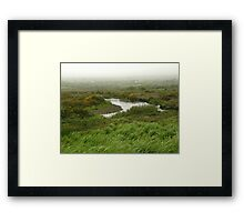 Mist in Ireland Framed Print