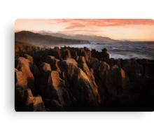 Pancake Rocks Canvas Print