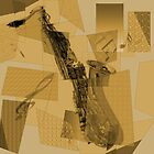 Cubist Sax by loveli