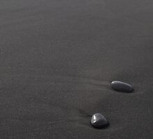 Where the world ends, stones by Valérie Abella