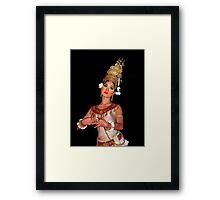 Cambodian Dancer Framed Print
