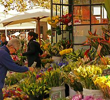 Flowers for Sale by Harry Oldmeadow