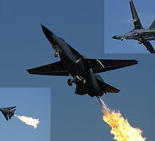 F-111 Montage 2 by Daniel McIntosh