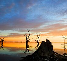 Lake Bonney Sunset 1 by Seesee