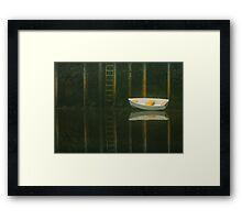 Rowboat, Port Clyde, Maine Framed Print