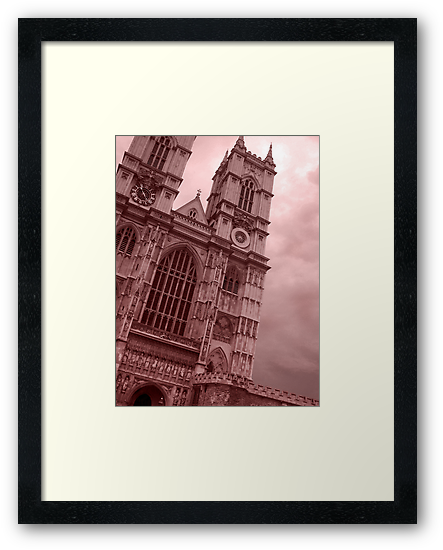 Westminster Abbey by Linda Hardt
