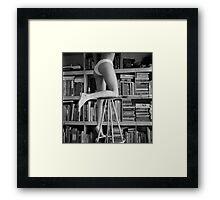 Reaching up Framed Print