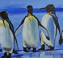 Happy feet by Hannelore Rack
