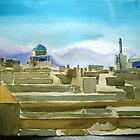 impression of Yazd, Iran by taariqhassan