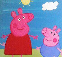 Peppa Pig by eleanor boyle