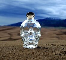 Crystal Skull in the Great Sand Dunes by John Windsor