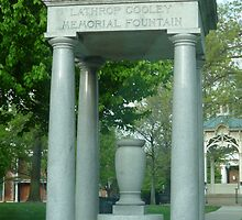 Cooley Memorial Fountain-Medina,Ohio by Bea Godbee