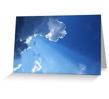Every Cloud Has Its Silver Lining Greeting Card