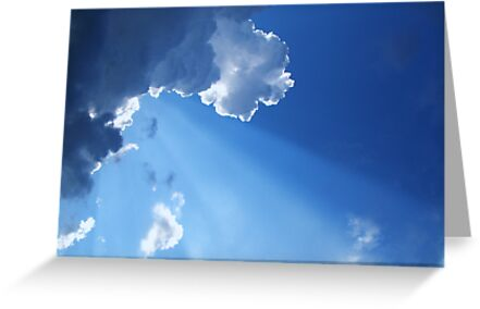Every Cloud Has Its Silver Lining by NatureGreeting Cards ©ccwri