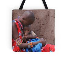 MOTHER AND CHILD - KENYA Tote Bag