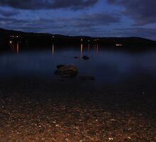 Windermere At Night by Andrew Cryer