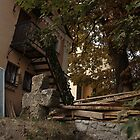 the cross and stairs by Yuriy Netesov