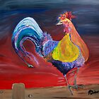 Rooster Morning by John Windsor