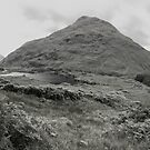 Glen Etive Panorama by Empato Photography