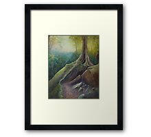 Mermaids Cave #2 Framed Print