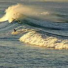 Surf at Tuncurry by Dennis Wetherley
