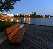 Dryden Waterfront by Stan Wojtaszek