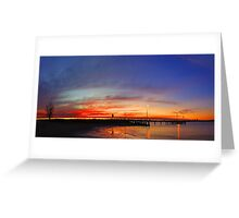Applecross At Sunset  Greeting Card