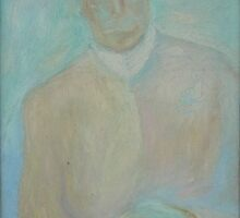 Mr Hurd Hatfield (1997) by Olga Romanova